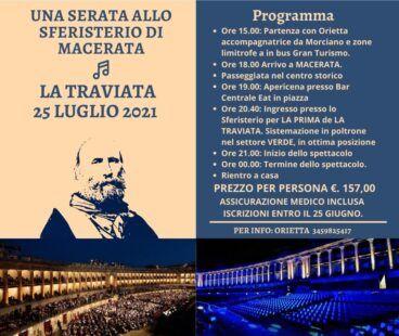 La Traviata allo Sferisterio di Macerata - 25 luglio 2021